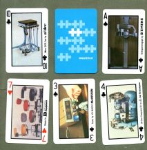 Collectible Advertising playing cards Healthco Medical